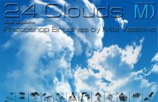 24款云朵白云笔刷
