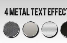 金属渐变效果样式
