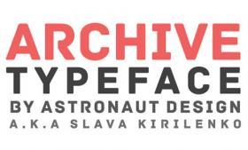 Archive 免费英文字体 支持希腊文