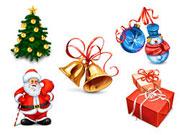 圣诞节立体图标素材,512X512,PNG大图标