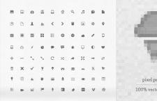 80枚精致16x16图标,PSD格式