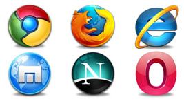 9款主流浏览器图标png