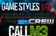 游戏海报设计字体效果PS样式