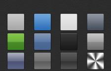 Iphone渐变样式,grd格式