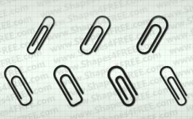 7款回旋针Photoshop自定义形状