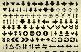 120款箭头PS自定义形状