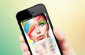 Iphone手机模型,高清PSD分层
