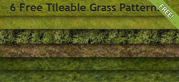 6款高清草坪,PS填充图案