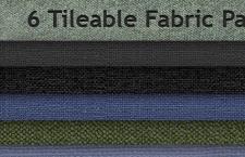 6款织布纹理,PS填充图案