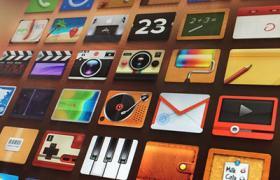 iPhone矩形图标集