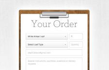 个性订单UI界面,PSD矢量素材