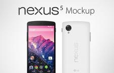 Google Nexus5 手机模型,AI矢量素材