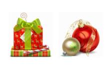 10枚高清圣诞礼物PNG图标