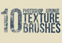 10款裂痕纹理Photoshop笔刷