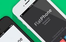 iPhone5扁平化模型,PSD源文件