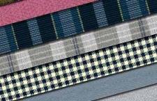 法兰西格子无缝平铺纺织布料,PS背景填充纹理