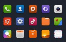 小米手机图标UI,PSD源文件