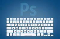 Adobe设计软件快捷键,键盘示意图