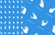触摸手势多尺寸PNG图标
