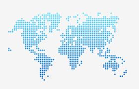 世界地图矢量素材,AI源文件