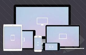 Apple设备模型,PSD分层