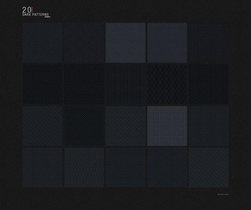 20款暗色线条纹理,PS填充图案