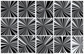 扭曲放射线 PS形状