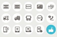 70枚电子商务和购物图标,AI源文件
