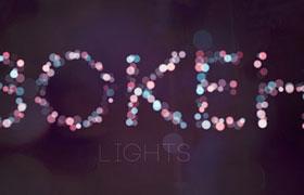 字体设计:光晕字体制作