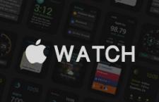 Apple Watch GUI界面,PSD源文件