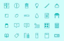 24枚家装图标,AI源文件