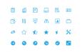 360枚简约小图标,PNG格式