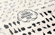 咖啡馆装饰素材图标,AI源文件