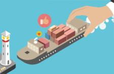 扁平化海外货运船,AI源文件