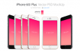 iPhone 6S手机模板,AI PSD源文件