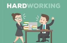 工作繁忙的商务卡通人物,AI源文件