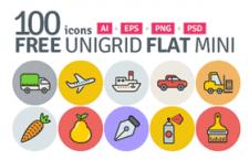 100枚趣味多彩图标,AI PSD PNG 源文件
