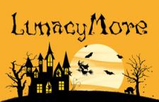 万圣节英文字体LunacyMore