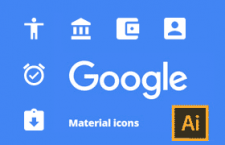 Material Design 矢量图标,AI源文件