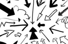 手绘箭头,AI源文件