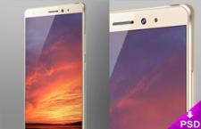 华为Huawei Mate S 展示模型,PSD源文件