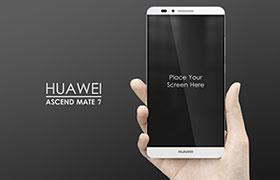 华为 Ascend Mate7 手机模型