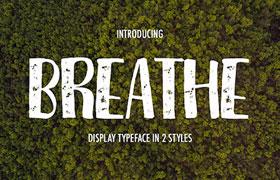文艺范 Breathe英文字体