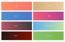 在线渐变配色工具 - UIgradients
