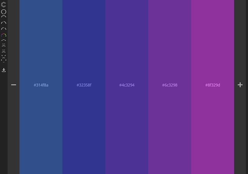 在线配色工具Colourco
