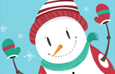 雪人矢量素材,AI源文件