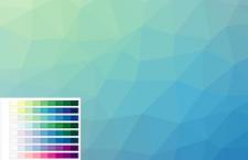 在线制作多边形背景工具 - Trianglify
