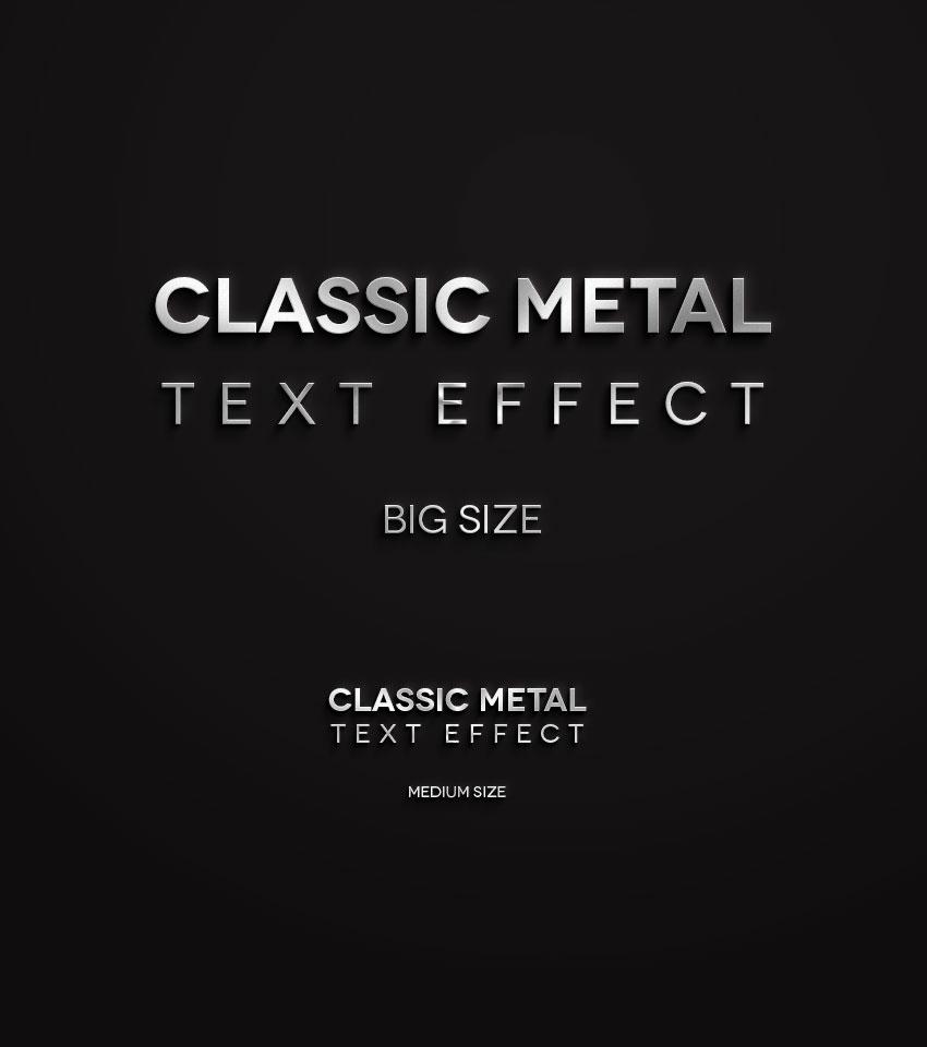 金属字体样式,PSD源文件