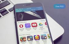 App Store 界面设计,PSD源文件