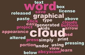 7款国外标签云在线生成工具